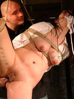 Needleplay and shibari