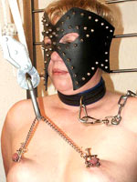 Bondage session at the Dutch BDSM club